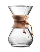 Cafetière en verre 6 tasses - Chemex  MaxiCoffee