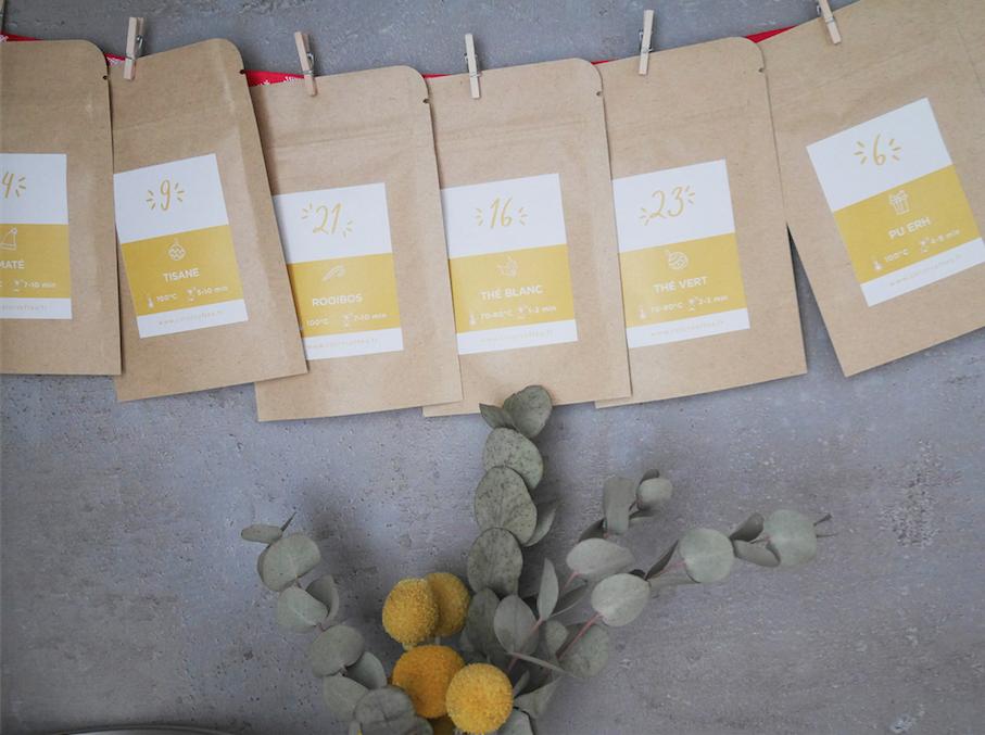 Le calendrier de l'Avent DIY Colors of Tea