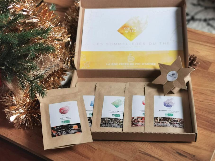 Box Colors of Tea